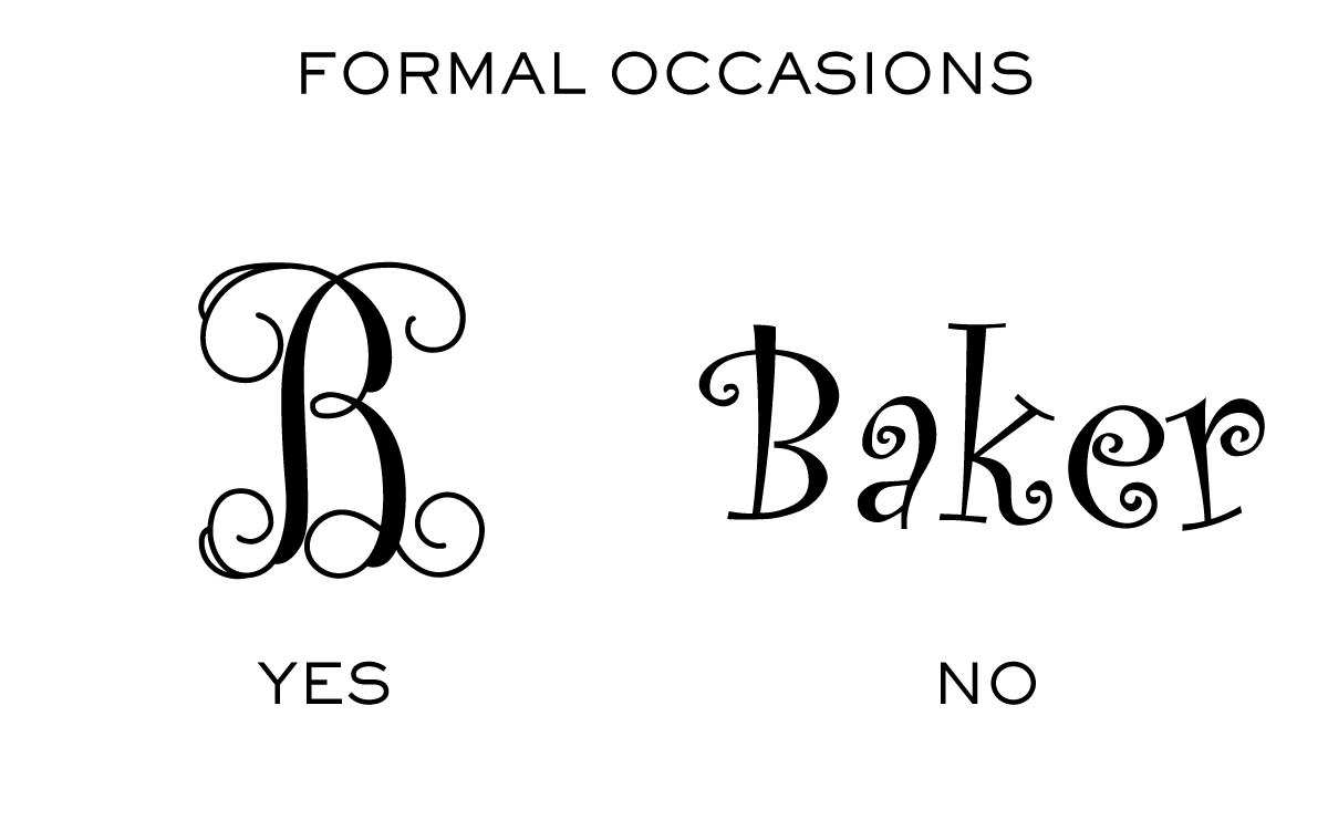 Monogram Etiquette_Formal Gifts